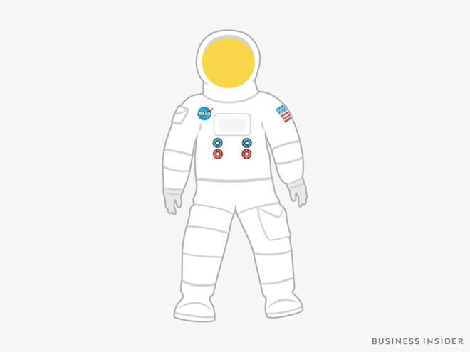 Hành trình tiến hóa của bộ đồ phi hành gia tại NASA: Cải biên từ đồ quân đội cho đến dự định... lắp chân nhện như Spider Man - Ảnh 4.