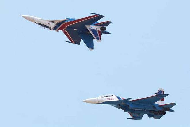Cận cảnh dàn máy bay, tàu chiến khuấy đảo Triển lãm LIMA-2019 - Ảnh 5.