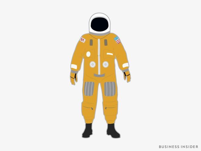 Hành trình tiến hóa của bộ đồ phi hành gia tại NASA: Cải biên từ đồ quân đội cho đến dự định... lắp chân nhện như Spider Man - Ảnh 5.