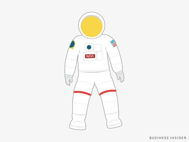 Hành trình tiến hóa của bộ đồ phi hành gia tại NASA: Cải biên từ đồ quân đội cho đến dự định... lắp chân nhện như Spider Man - Ảnh 6.