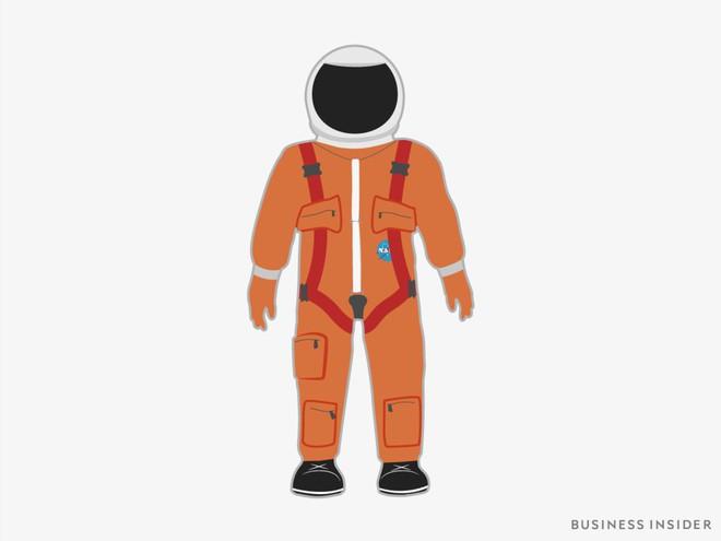 Hành trình tiến hóa của bộ đồ phi hành gia tại NASA: Cải biên từ đồ quân đội cho đến dự định... lắp chân nhện như Spider Man - Ảnh 7.