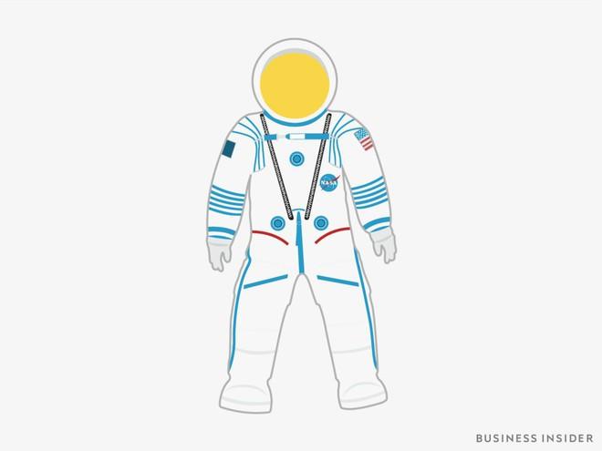 Hành trình tiến hóa của bộ đồ phi hành gia tại NASA: Cải biên từ đồ quân đội cho đến dự định... lắp chân nhện như Spider Man - Ảnh 8.