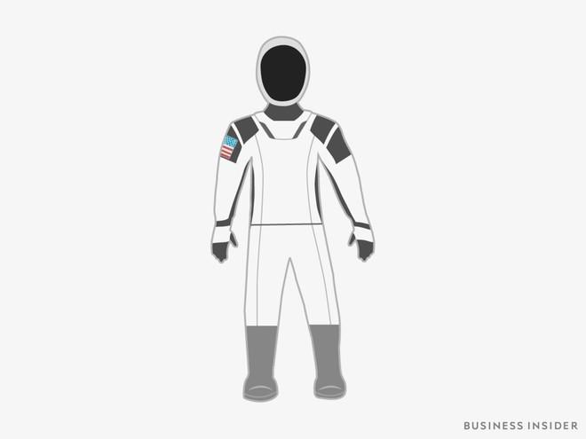 Hành trình tiến hóa của bộ đồ phi hành gia tại NASA: Cải biên từ đồ quân đội cho đến dự định... lắp chân nhện như Spider Man - Ảnh 9.
