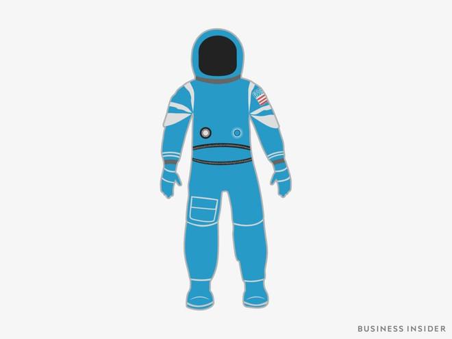 Hành trình tiến hóa của bộ đồ phi hành gia tại NASA: Cải biên từ đồ quân đội cho đến dự định... lắp chân nhện như Spider Man - Ảnh 10.