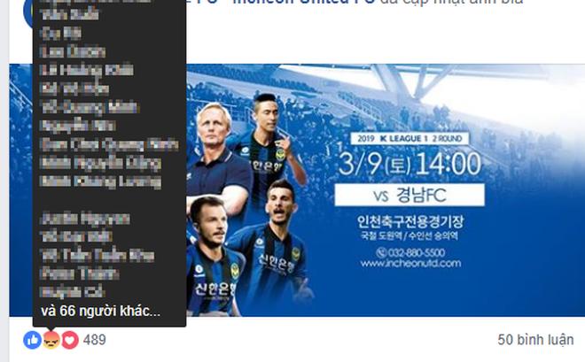 """Fan Việt """"làm loạn"""" trên fanpage của Incheon United, khiến NHM Hàn Quốc thất vọng"""