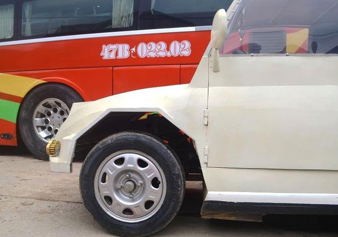 Nam thanh niên chế xe siêu bán tải từ chiếc xe máy Suzuki Viva với giá rẻ bất ngờ - Ảnh 7.