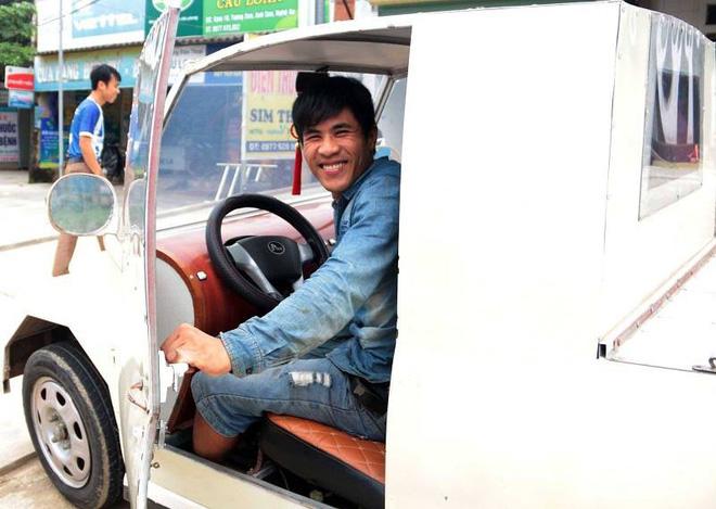 Nam thanh niên chế xe siêu bán tải từ chiếc xe máy Suzuki Viva với giá rẻ bất ngờ - Ảnh 1.
