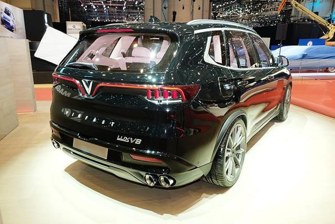 Lộ hình ảnh của mẫu ô tô VinFast sẽ đem đến Geneva Motor Show 2019 - Ảnh 5.