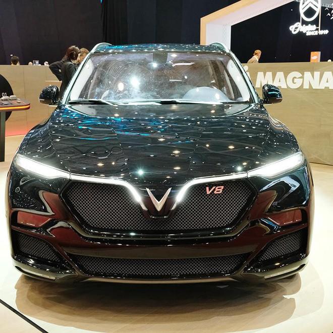 Lộ hình ảnh của mẫu ô tô VinFast sẽ đem đến Geneva Motor Show 2019 - Ảnh 3.