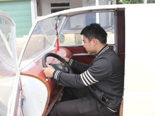 Nam thanh niên chế xe siêu bán tải từ chiếc xe máy Suzuki Viva với giá rẻ bất ngờ - Ảnh 13.