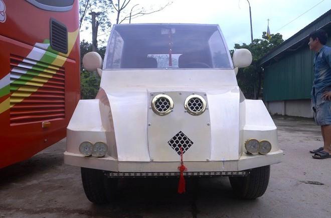 Nam thanh niên chế xe siêu bán tải từ chiếc xe máy Suzuki Viva với giá rẻ bất ngờ - Ảnh 3.