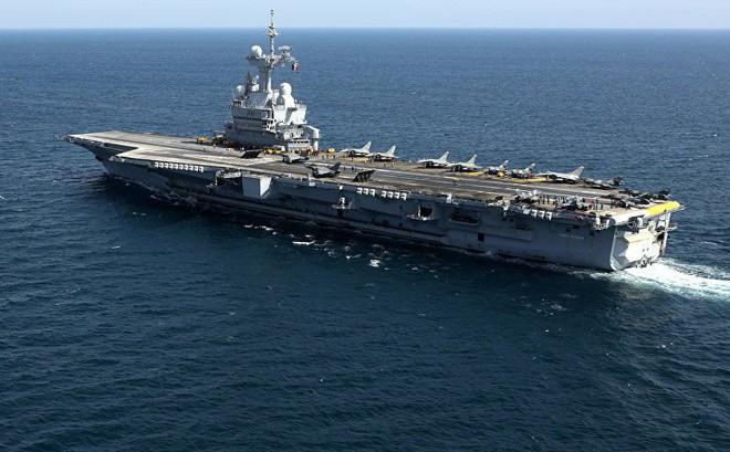 Tàu sân bay Pháp đã tới Syria để thay chân Mỹ thiết lập vùng cấm bay?