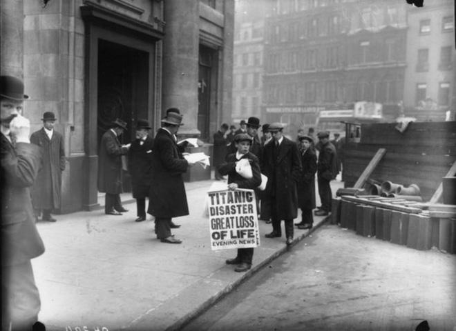 Những bức ảnh chưa từng công bố về vụ chìm tàu Titanic thảm khốc - Ảnh 15.