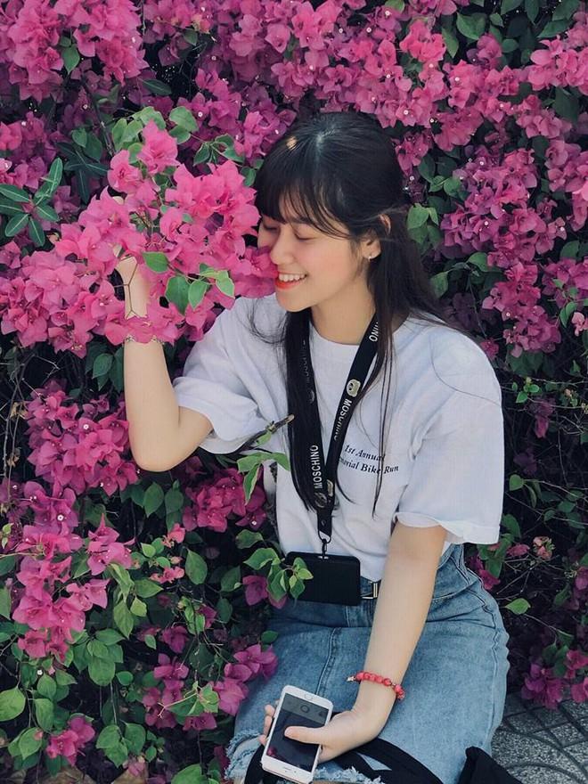 Chụp cả trăm kiểu đều đẹp, đây là giàn hoa được dân sống ảo truy lùng tại một trường đại học ở Việt Nam - Ảnh 8.