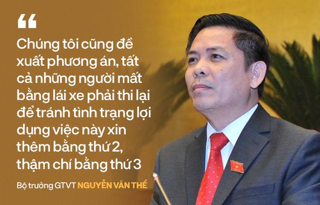 ĐB Lưu Bình Nhưỡng nói về đề xuất mất bằng lái xe phải thi lại: Người dân phản ứng là đúng - Ảnh 1.