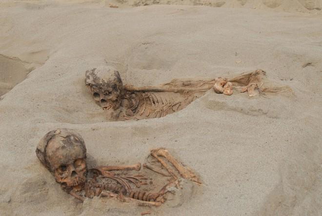 Khai quật khu hiến tế trẻ em lớn nhất lịch sử: Hàng trăm bộ xương lộ ra, đã bị lấy mất nội tạng - Ảnh 1.