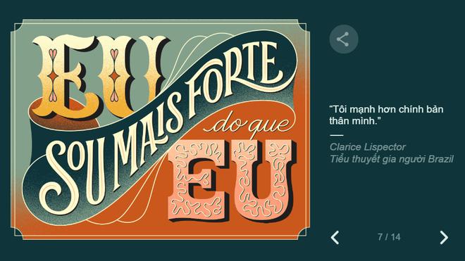 Google tôn vinh 8/3 theo cách không thể đặc biệt hơn: Thiết kế hình ảnh chưa từng có - Ảnh 9.