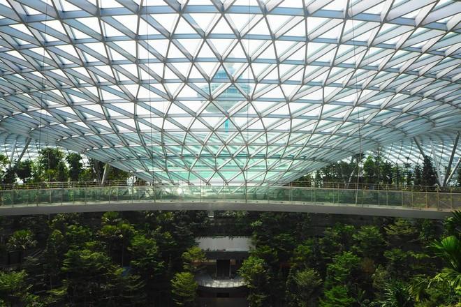 Mãn nhãn với sân bay Singapore tỉ đô sắp khai trương - Ảnh 3.