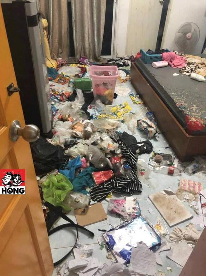 Cô gái bùng tiền nhà trọ, chủ thuê mở cửa phòng thì chửi bới vì khung cảnh kinh hãi - Ảnh 1.