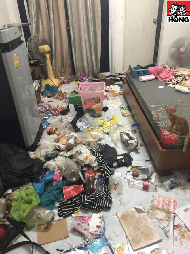 Cô gái bùng tiền nhà trọ, chủ thuê mở cửa phòng thì chửi bới vì khung cảnh kinh hãi - Ảnh 4.