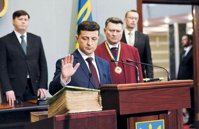 Vì sao tương lai Ukraine được kỳ vọng ở diễn viên hài? - Ảnh 1.