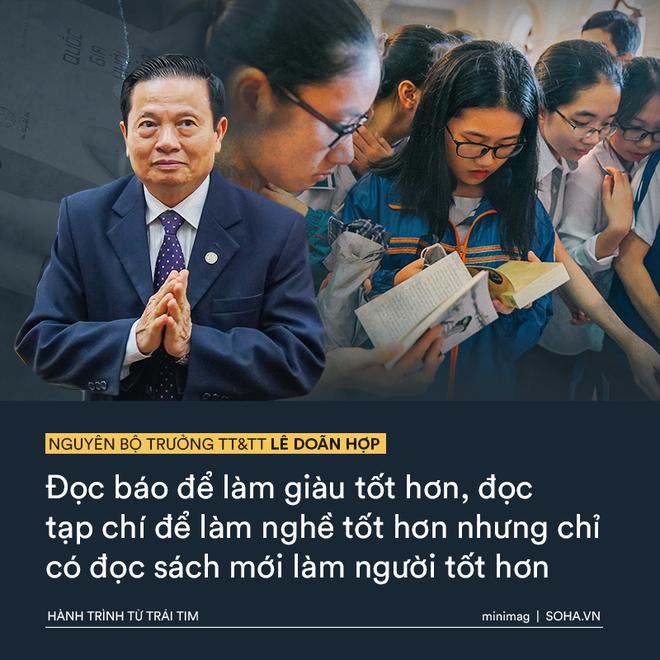 Phát biểu truyền cảm hứng sâu sắc của vị Bộ trưởng mê sách trong Hành trình Từ Trái Tim - Ảnh 10.