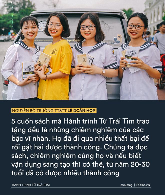 Phát biểu truyền cảm hứng sâu sắc của vị Bộ trưởng mê sách trong Hành trình Từ Trái Tim - Ảnh 6.