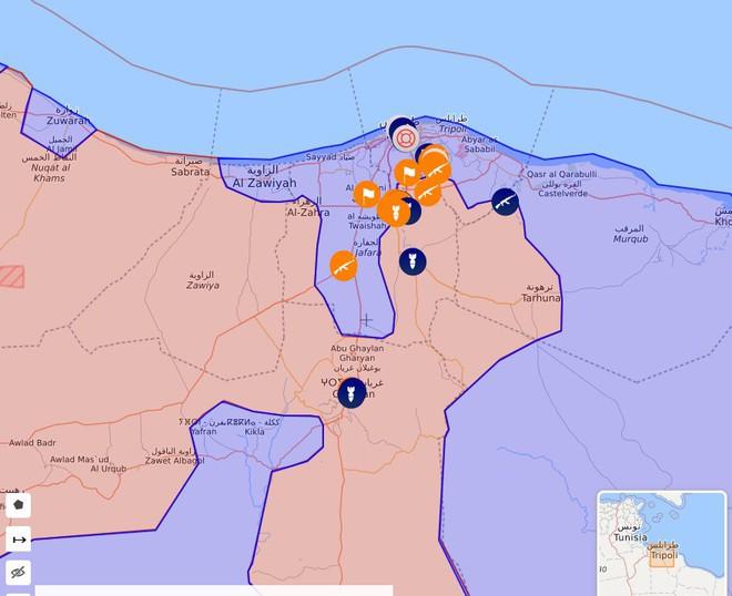 Chiến sự Libya đảo chiều nhanh chóng - Đầu não nhiều đơn vị GNA bị đánh tan hoang, tình hình nguy ngập - Ảnh 1.