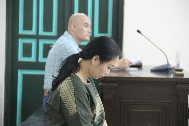 Vụ gài ma túy giá 1 tỷ đồng: Bị cáo khai bị đánh sẩy thai, tinh thần hoảng loạn nên muốn cho bạn trai đi tù - Ảnh 2.