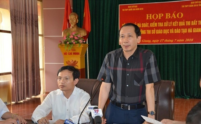 Nhiều thí sinh được nâng điểm ở Hà Giang là con cháu lãnh đạo?