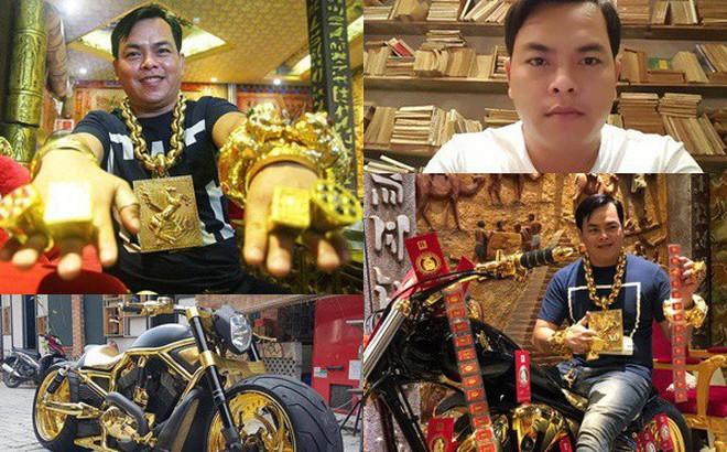 Đại gia Phúc XO vừa bị tạm giữ: Đeo nhiều vàng vì theo phong thủy chứ không phải khoe mẽ