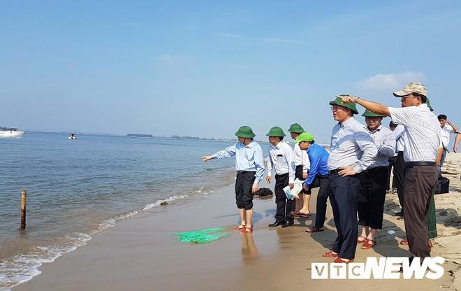 Quảng Nam cắm biển báo tại đảo cát dài 3 cây số nổi lên giữa biển Hội An - Ảnh 3.