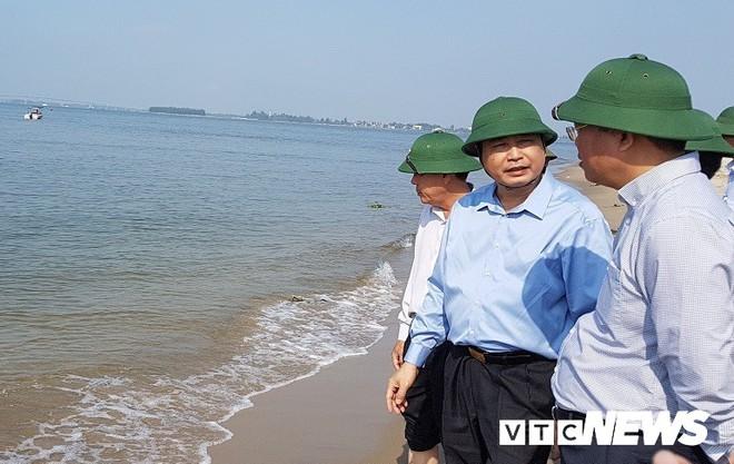 Quảng Nam cắm biển báo tại đảo cát dài 3 cây số nổi lên giữa biển Hội An - Ảnh 4.