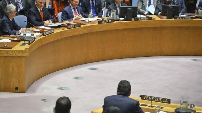 Đại sứ Venezuela bị PTT Mỹ vỗ mặt thô lỗ ngay trước cộng đồng quốc tế, đại sứ Nga ngay lập tức bênh vực - Ảnh 1.