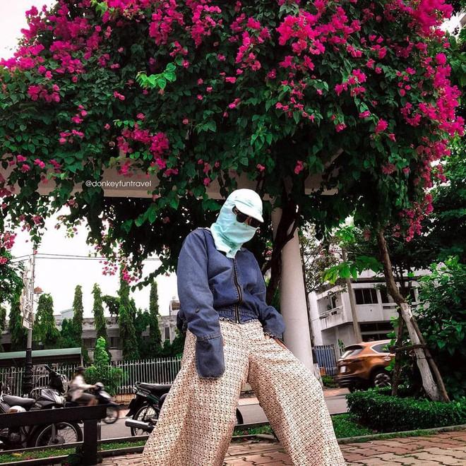 Không có xe tay ga nhưng ninja vẫn giữ nguyên phong cách, chụp ảnh du lịch hè mà bưng bít từ đầu đến chân - Ảnh 13.
