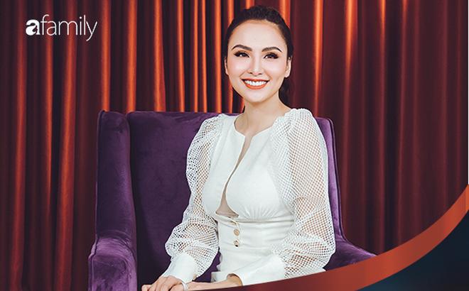 Hoa hậu Diễm Hương: Chồng nào cũng bảo nếu em đừng làm ra tiền thì đã dễ dạy hơn