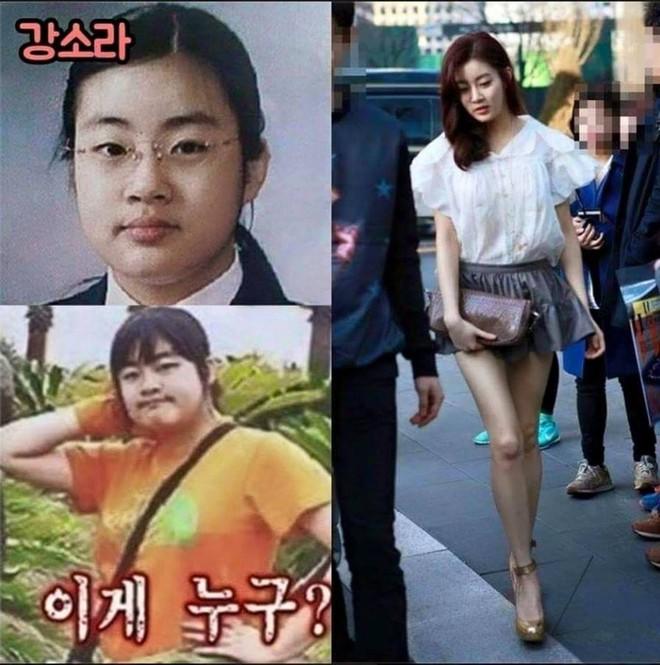 Những màn thay đổi ngoại hình gây sốc nhất lịch sử Kbiz: Kẻ từ kém sắc đổi đời thành nữ thần, người giảm 70kg - Ảnh 11.