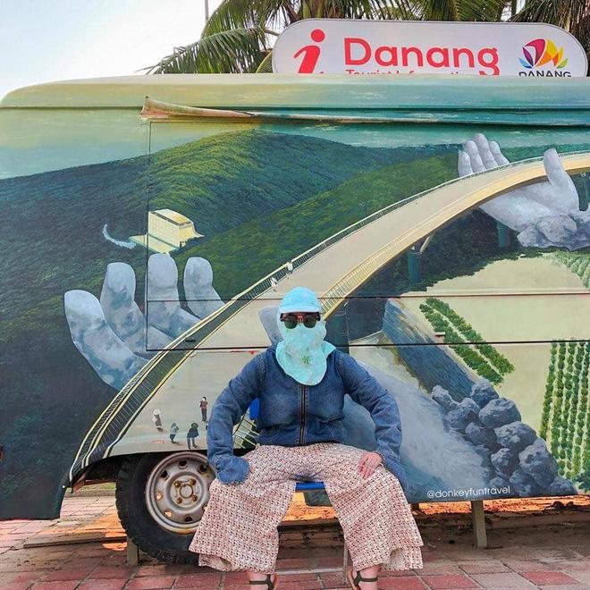 Không có xe tay ga nhưng ninja vẫn giữ nguyên phong cách, chụp ảnh du lịch hè mà bưng bít từ đầu đến chân - Ảnh 10.