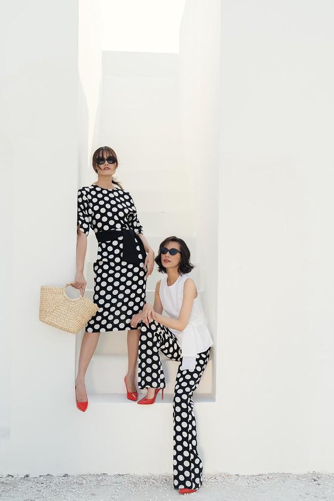 Cặp chân dài Vietnams Next Top Model cùng khoe gu ăn vận tinh tế - Ảnh 2.