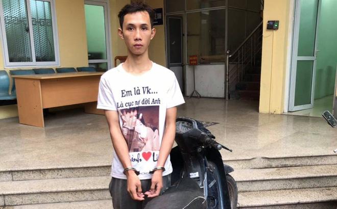 Thanh niên trộm xe bị cảnh sát bắt vì không nổ được máy
