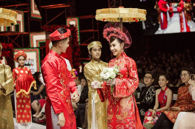Hoa hậu Hoàng Dung e ấp và hạnh phúc trong ngày Vu quy - Ảnh 7.