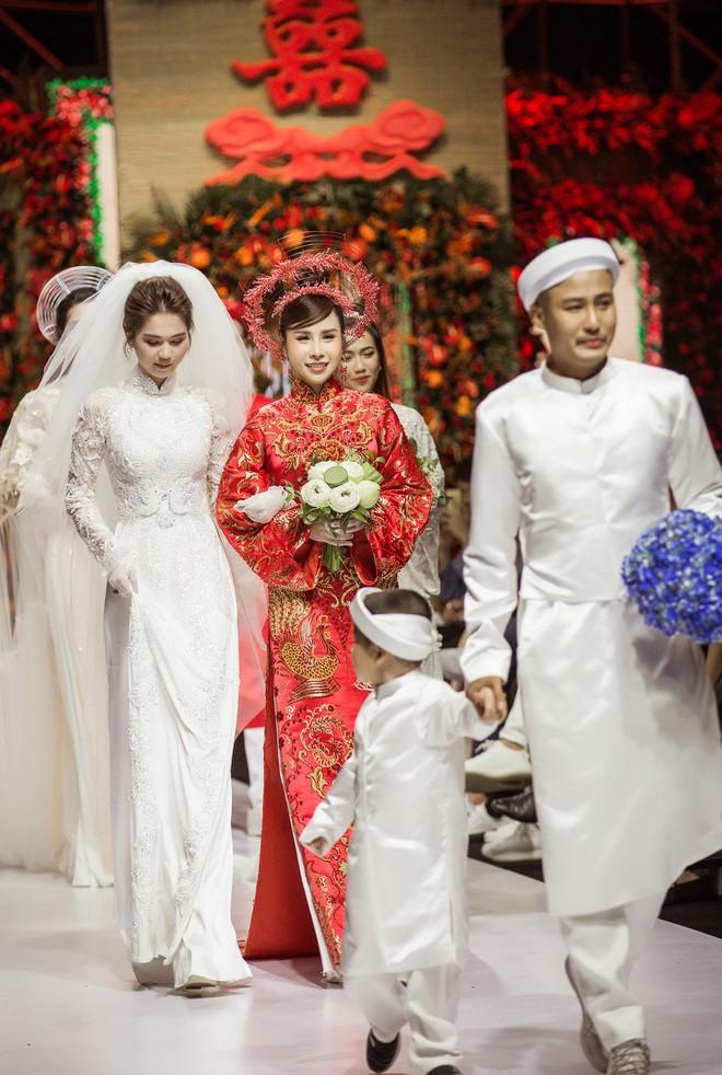 Hoa hậu Hoàng Dung e ấp và hạnh phúc trong ngày Vu quy - Ảnh 8.