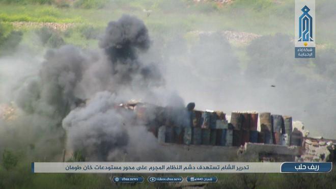 Khủng bố HTS táo tợn nã tên lửa vào Aleppo, Nga-Syria đã đủ lý do để tấn công Idlib? - Ảnh 2.