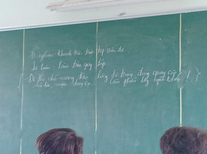 Buông nhẹ 1 câu cuối đề kiểm tra, giáo viên khiến học sinh sợ xanh mặt, tắt ngấm ý định quay cóp hỏi bài - Ảnh 2.