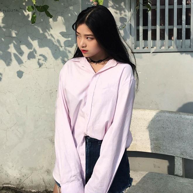Nữ thần đồng phục trường Trần Phú (TP.HCM): Ngây thơ và cuốn hút chỉ cách nhau một tích tắc - Ảnh 10.