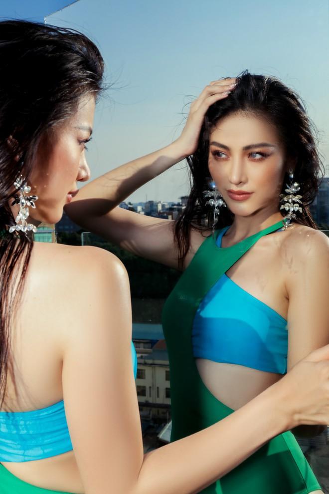 Hoa hậu Phương Khánh tung loạt ảnh mặc bikini nóng bỏng - Ảnh 12.