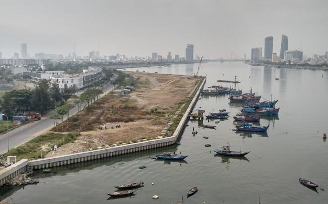 Lấn sông Hàn làm dự án rồi phân lô bán nền