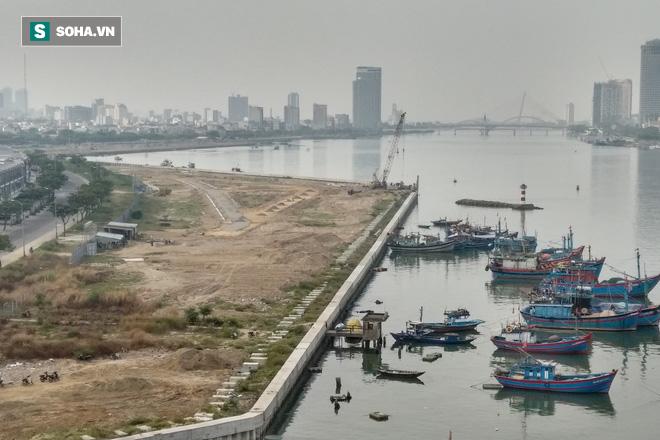 Lấn sông Hàn làm dự án rồi phân lô bán nền - Ảnh 2.
