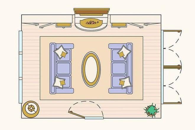 Có 10 bản vẽ thiết kế phòng khách cực tỉ mỉ này thì bạn còn lo gì việc trăn trở xem bố trí phòng khách thế nào cho hợp lý - Ảnh 2.