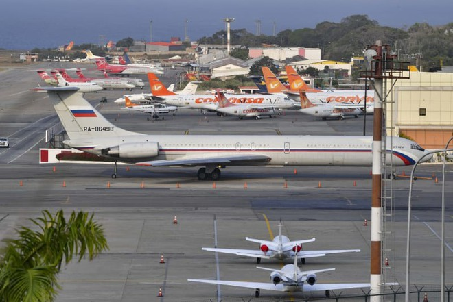 Nga âm thầm đi cửa sau, tìm cách điều thêm loạt máy bay quân sự mới tới Venezuela - Ảnh 1.